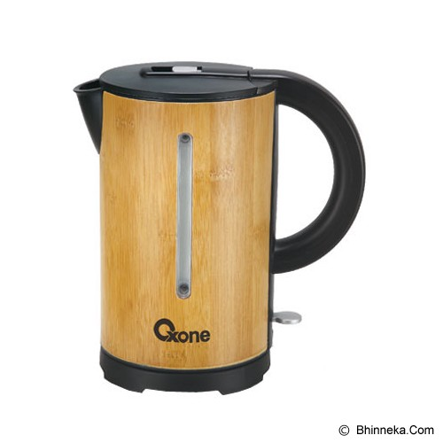 OXONE Bamboo Electric Kettle [OX-950] - Teko Elektrik
